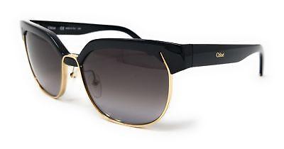 28b4f6c625c5 CHLOE Sunglasses Oval CE666S 001 BLACK 57x15x140