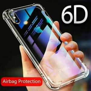 Details about Case For iPhone GETIHU Airbag XS Max XR X 7 360 With Tempered  Glass Cover Coque