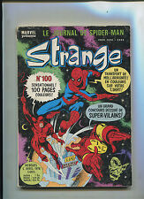 STRANGE #100 (5.5) (FRENCH AMAZING SPIDER-MAN) RARE WITH IRON ON MUST SEE!
