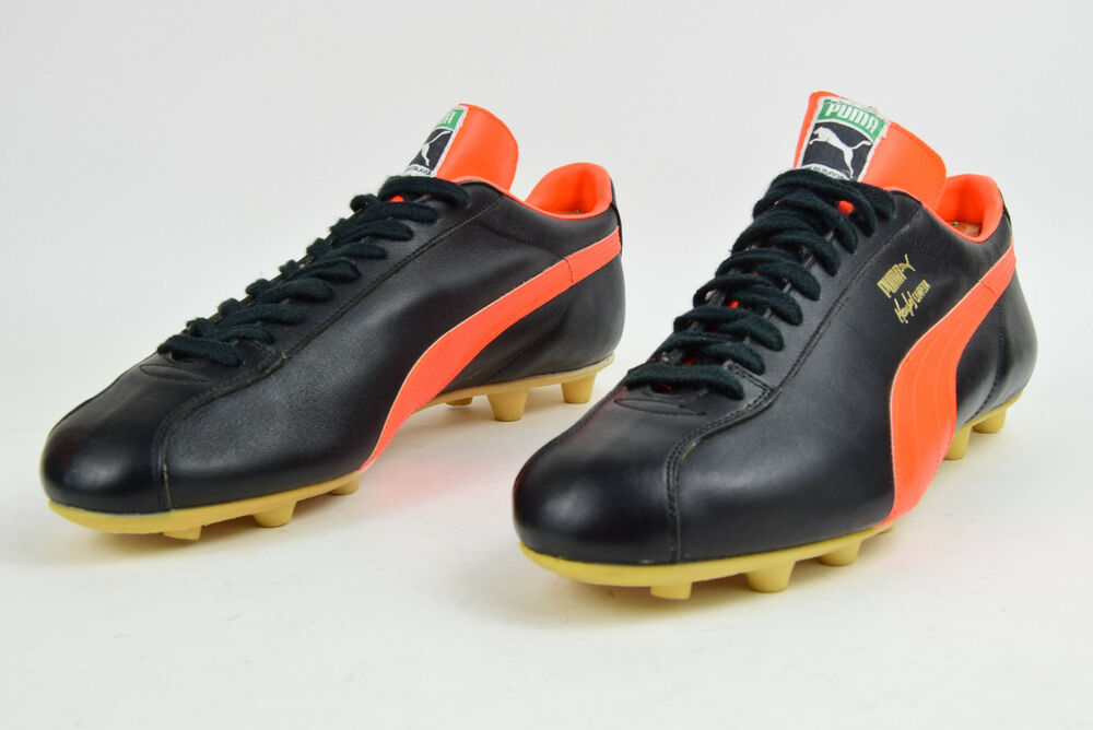 PUMA Mario Kempes CAMPEON Vintage Football chaussures Made in YOUGOSLAVIE-
