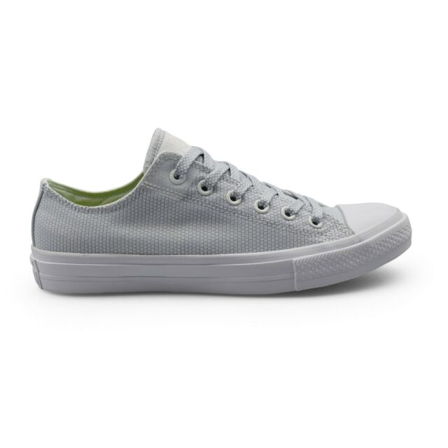 5c9264f485b Converse CTAS Chuck Taylor All Star II Basketweave Fuse White Mens Trainers  Sale