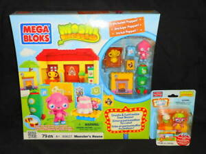 New Mega Bloks Moshi Monsters 80627 Monster S House 79pc Playset With Poppet 65541806276 Ebay