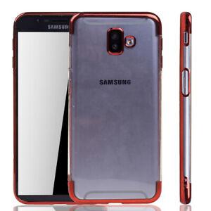 Samsung-Galaxy-J6-Plus-Etui-Coque-pour-Portable-Housse-Sac-Housse-Etui-Rouge
