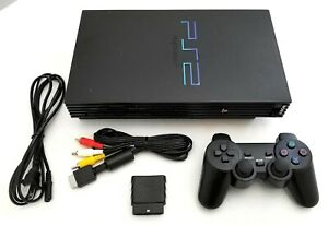 Original-SONY-PS2-Gaming-System-Bundle-Black-Video-Game-Console-PLAYSTATION-2
