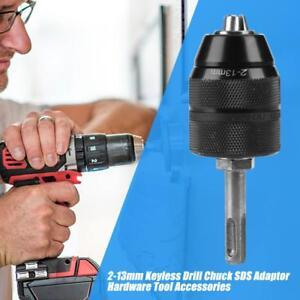 2-13mm-Sans-Cle-Perceuse-Mandrin-Collet-Serrage-Adaptateur-Convertisseur