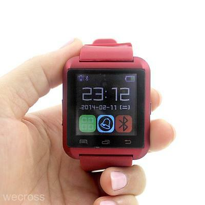 Fashion Touch Screen Bluetooth WristWatch Smart Watch For iPhone Android Samsung