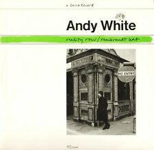 "ANDY WHITE reality row FX 100 uk decca 1986 12"" PS EX/EX"