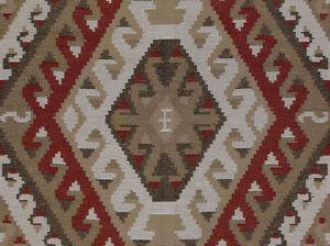 Kravet Designer Upholstery Fabric Rustic Kilim Sundried Red 2 5
