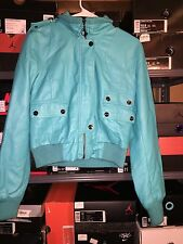 Vintage Baby Phat By Kimora Lee Simmons Tiffany Blue Jacket Coat Size Medium M
