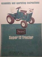 Sears Suburban Ss/12 Tractor & Engine Owners,parts, Service (4 Manuals)917.25311
