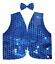 New-Kids-Sequin-Vest-amp-Bow-Tie-Dance-Costume-Party-Coat-Disco-Sparkle-Waistcoat