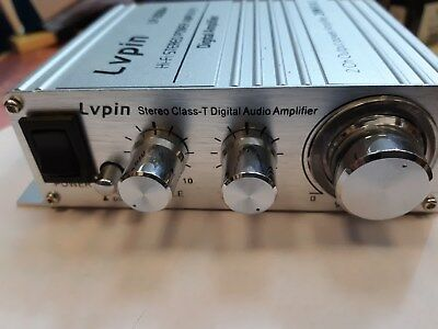 LP-2020A Lvpin Tripath Class-T Hi-Fi Audio Mini Amplifier with Power Supply