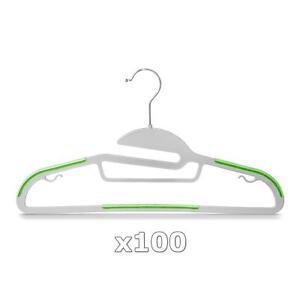 50x Kleiderbügel Garderobenbügel Jackenbügel Hemdenbügel Hosenbügel Kunststoff