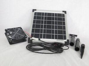 10w-Resistente-Al-Agua-Solar-Ventilador-INTERRUPTOR-SISTEMA-Invernadero-NUEVO