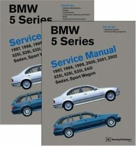 bmw 5 series e39 years 1997 2002 service manual