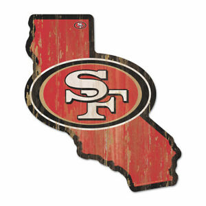 San-Francisco-49-ers-Holzschild-NFL-Football-Bundesstaat-Kalifornien