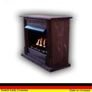 Details Zu Ethanol Firegel Cheminee Fireplace Caminetti Kamin Chimenea Emily Deluxe Noyer