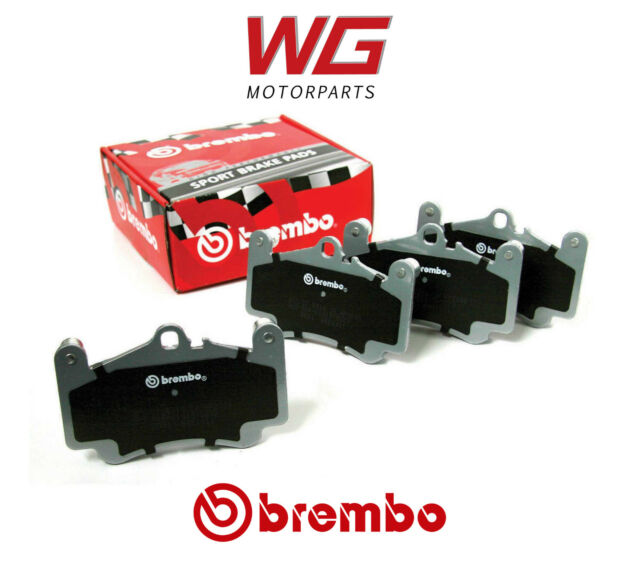 Brembo Sport HP2000 Brake Pads for Brembo GT 4 Piston 132mm Pad Caliper Kits