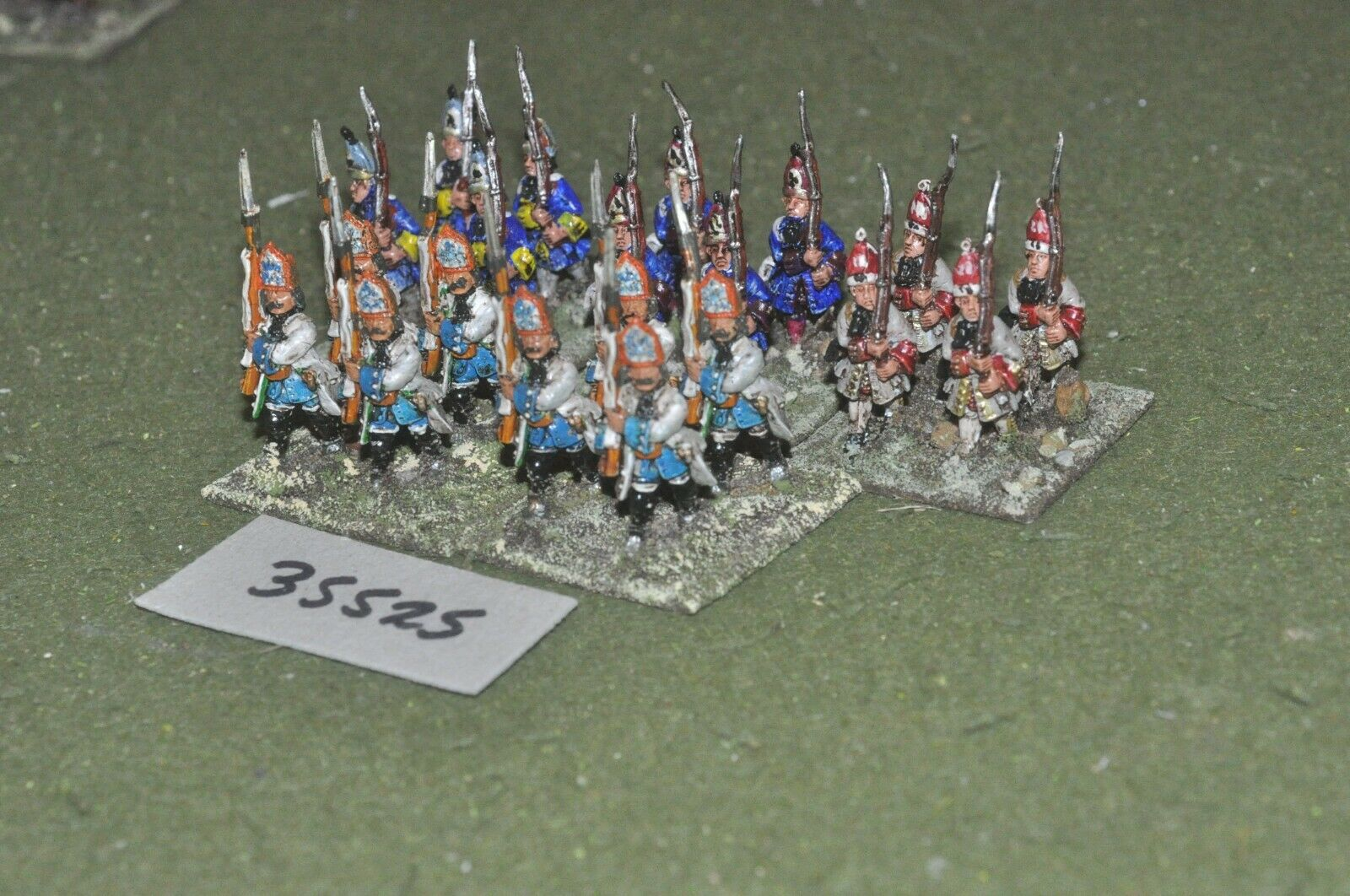 25mm marlburian   austrian - regiment 20 figures - inf (35525)