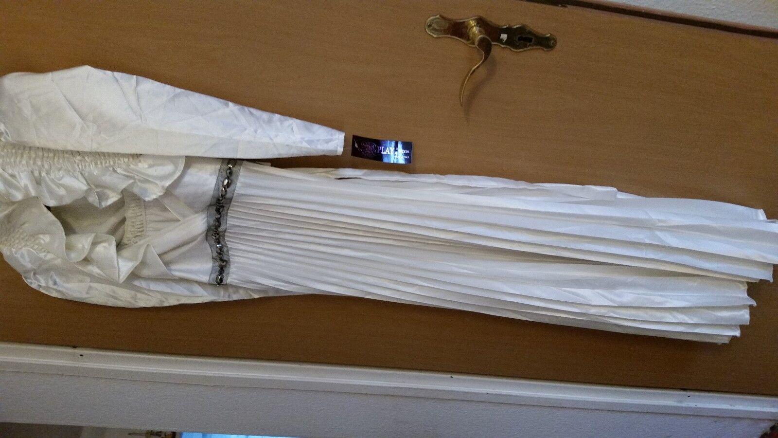 Schönes Kleid mit Bolero.weiß. Neu .NP129euro