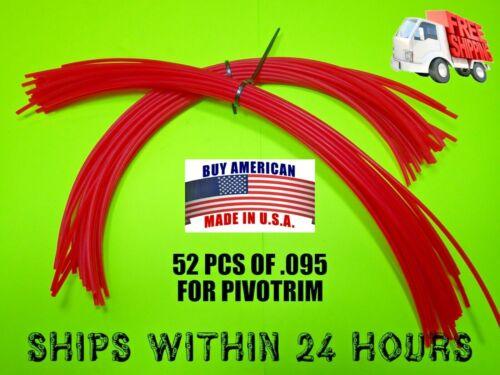 52 PCS .095 PIVOTRIM 16264A TRIMMER LINE STRING PIVOT TRIM COMMERCIAL HD 6539274