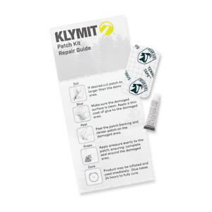 KLYMIT-Sleeping-Pad-PATCH-KIT-with-glue-and-tenacious-tape-BRAND-NEW