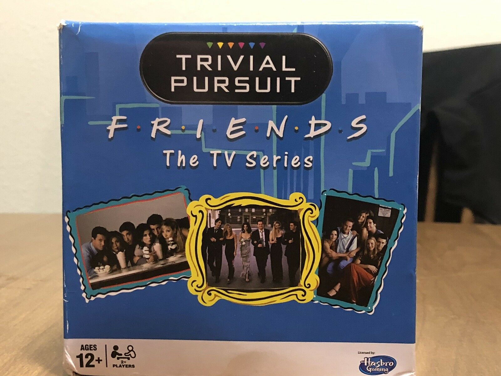 Trivial Pursuit: Friends The TV Series Edition Party Game.