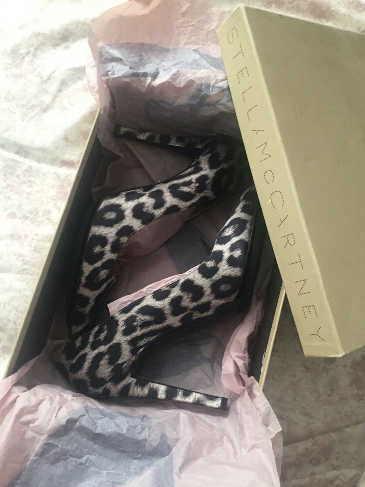 Stella McCartney leopard shoes 40  New with box