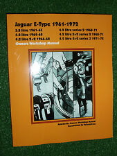 JAGUAR E-TYPE 3.8 4.2 & 2+2 SERIES 1 2 3 AUTOBOOK WORKSHOP MANUAL 1961-1972
