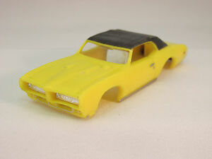 MODEL MOTORING BLUE /'69 GTO JUDGE SHELL ~ NEW ~ FITS AURORA TJET!