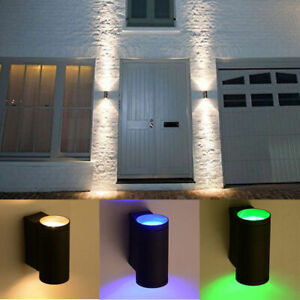 Modern-LED-Wall-Light-Up-Down-Cube-Indoor-Outdoor-Sconce-Lighting-Lamp-Fixture