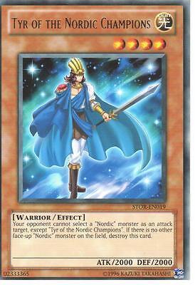 YU-GI-OH RARE: TYR OF THE NORDIC CHAMPIONS - STOR-EN019