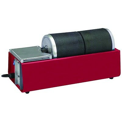 Dual Drum ( 2 Drum ) Rotary Rock Stone Metal Tumbler Polisher - 6 lb Capacity