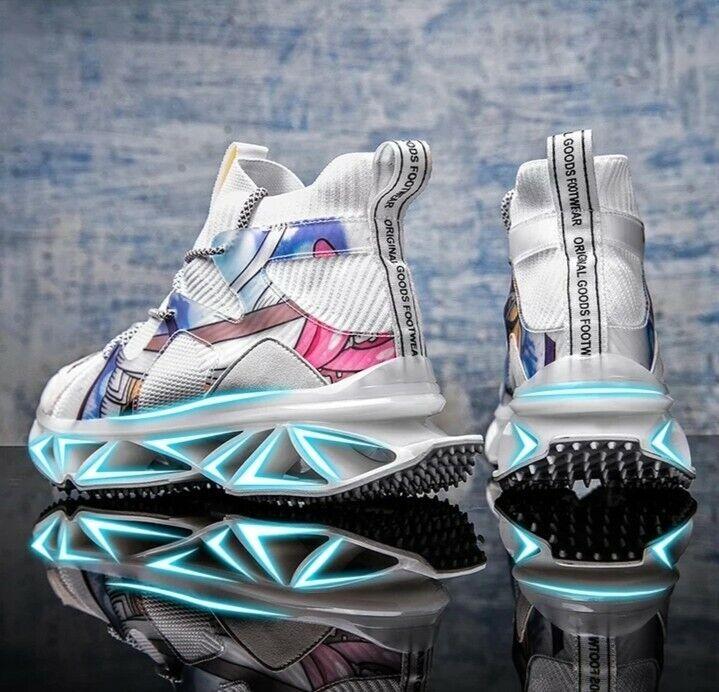 New Design Running Shoes for Men Breathable Blade Sneakers Antiskid Damping...