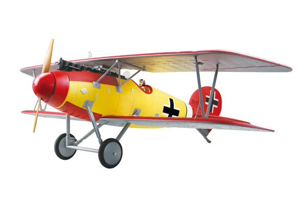 Dynam Albatros DVa ARTF WW1 Bi-Plane no Tx Rx Bat Chg - Superb Looking Plane