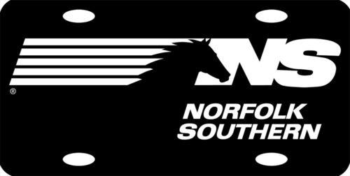 Norfolk Southern Logo Railroad Train License Plate