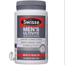 AU SELLER Swisse Men's Ultivite Multi Vitamin 120 Tablets 4 Month Supply