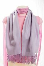 'Fiore' Womens 100% Acrylic Soft Light Violet Scarf Short 49in. Good For Kids