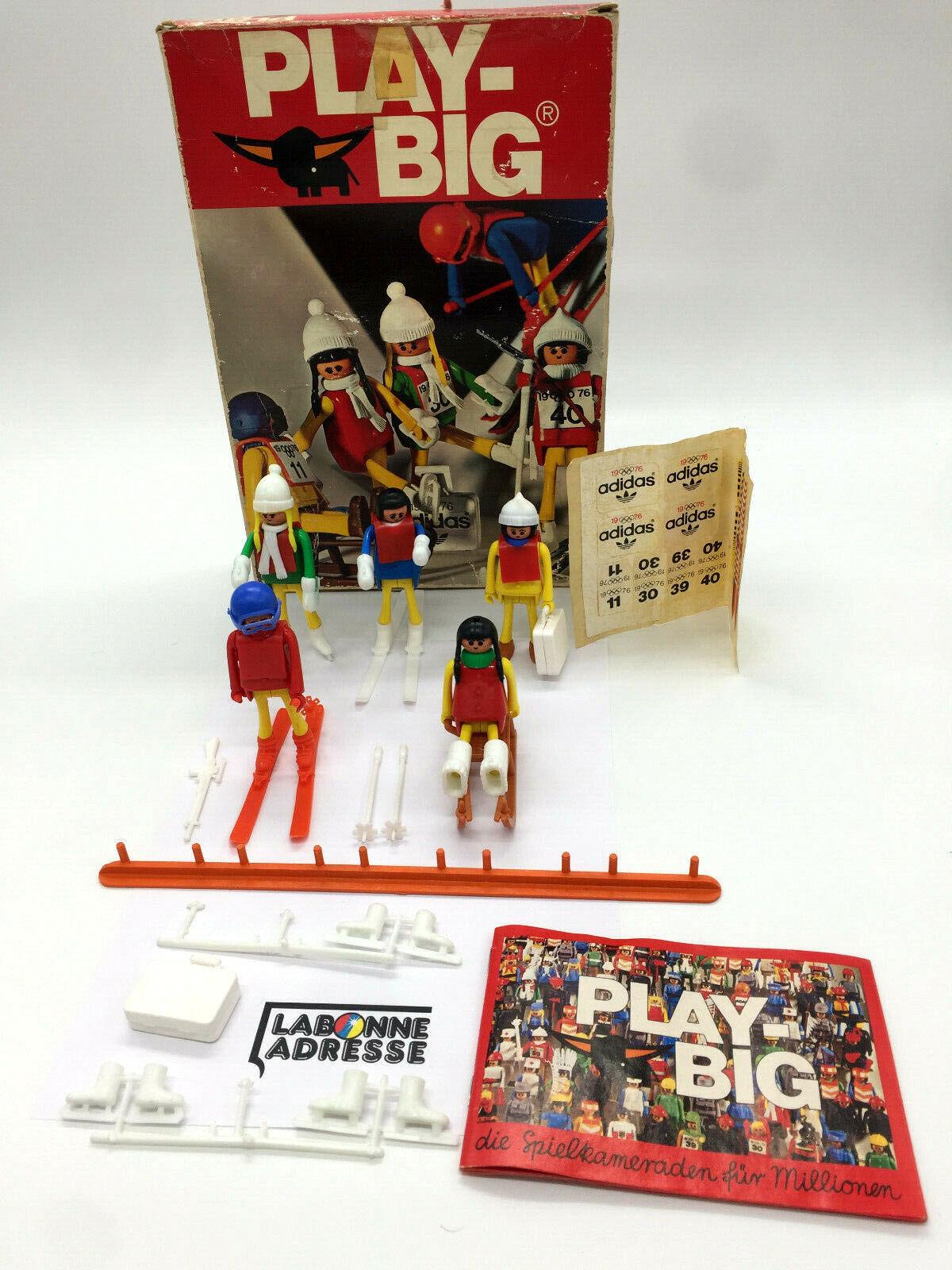 PLAYBIG 5880 ADIDAS 1976 JO  HIVER - PLAYMOBIL - VINTAGE RARE  acheter des rabais