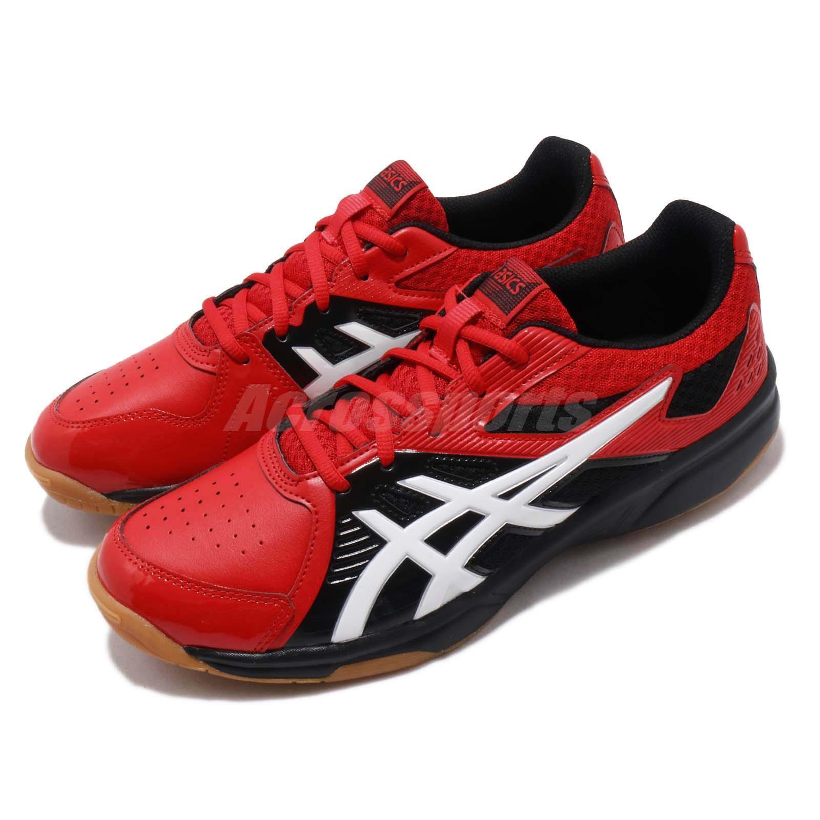 Asics Court Break Red White Black Gum Men Volleyball Badminton shoes 1071A003-608