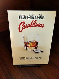 Casablanca-DVD-Warner-Bros-especial-momento-iconico-Edicion-Coleccionista-Slipcover-Nuevo