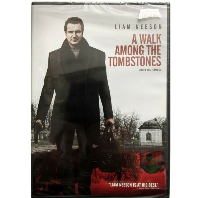 A Walk Among the TOMBSTONES. New DVD. French and English. Liam Neeson.