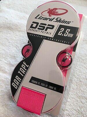 Lizard Skins Neon Pink DSP Durasoft 2.5mm Road Bike Bar Wrap Handlebar Tape