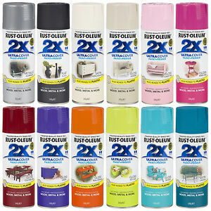 Rustoleum Clear Acrylic Spray Paint