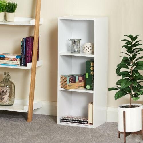 3 4 Cube Bookshelf Childrens Bookcase Storage Shelving Display Book Shelves Wood
