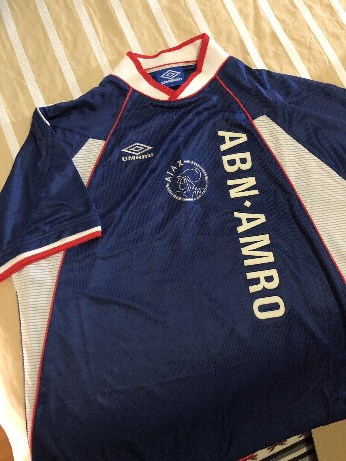 Genuine Umbro Vintage Ajax footbal shirt Dimensione XL