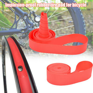 2pcs Bicycle Tire Liner PVC Anti-Puncture Explosion-proof Tyre Protector Pad