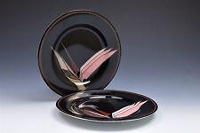 """Fitz and Floyd Oiseau de Paradis 7.5"""" Salad Dessert Appetizer Plates- Set of 2"""