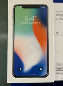 Apple-iPhone-X-256GB-Silver-AT-amp-T-A1901-GSM-iOS13