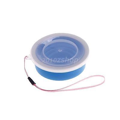 Outdoor Klappbecher Faltbecher Teleskopbecher Outdoor Trinkbecher - Blau